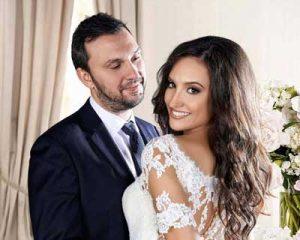 Φωτογράφιση γάμου Σούμπαση σε σπίτι